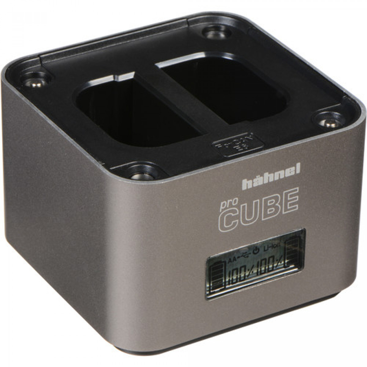 Hahnel Ultimate Plus ProCube Twin Charger for Canon and AA