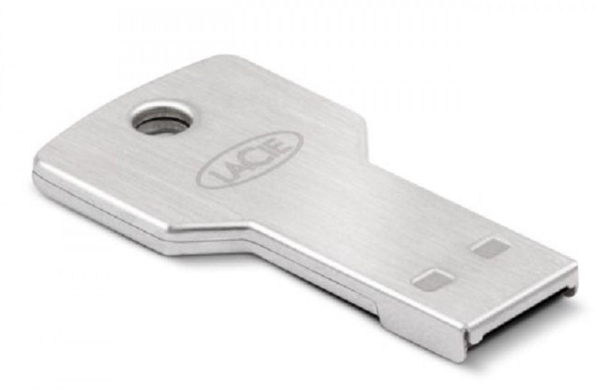 lacie petitekey 32gb usb 2 0 flash drive key memory stick. Black Bedroom Furniture Sets. Home Design Ideas