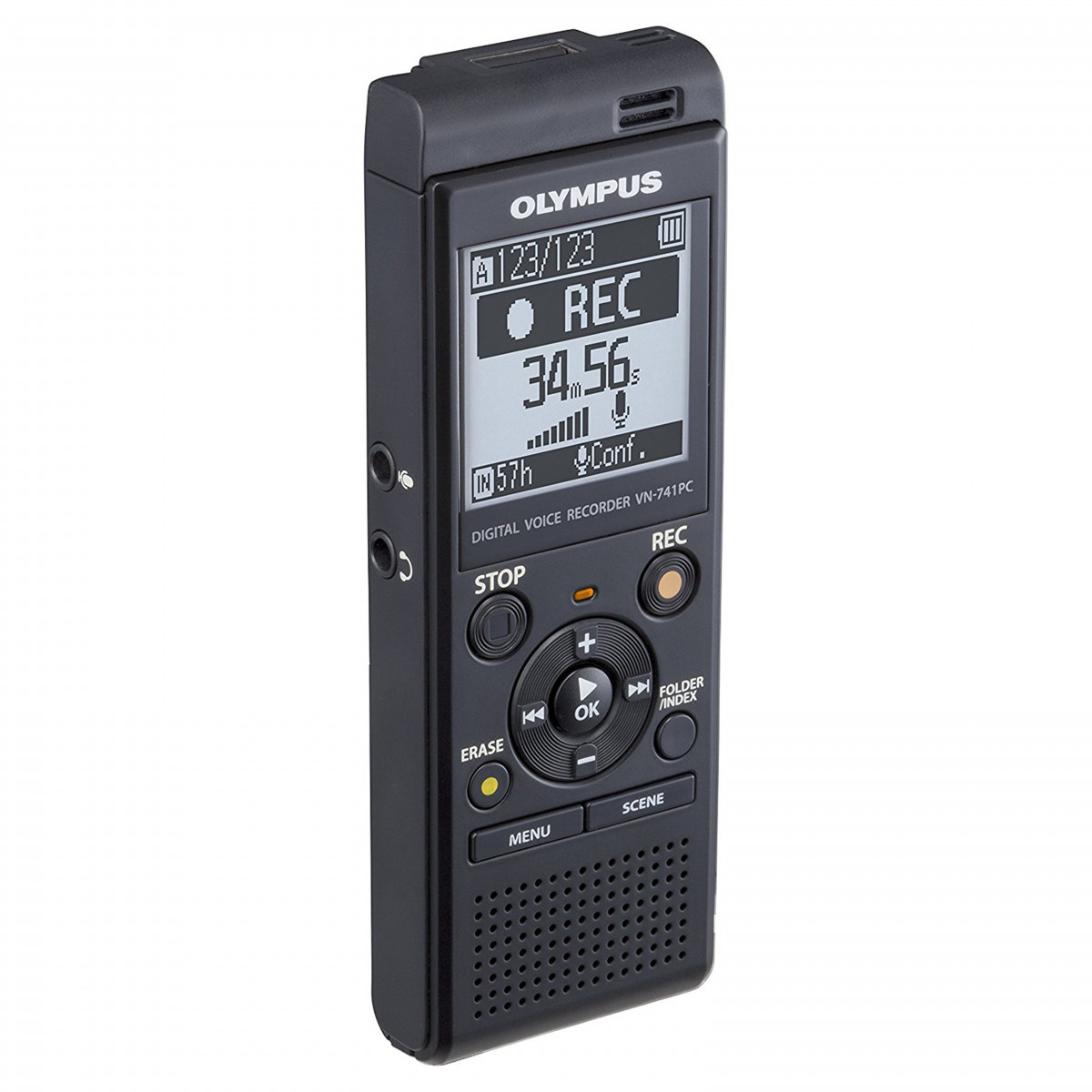 How To Clear Memory On Mac >> Olympus Voice Recorder VN-741PC - Digital Outlet