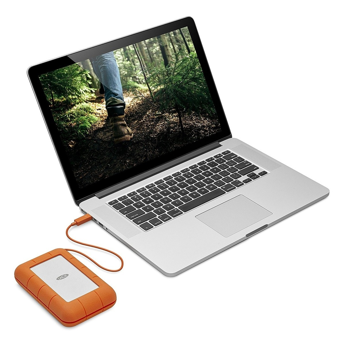 Lacie Stfs5000800 Rugged 5tb Thunderbolt Usb C Portable 2