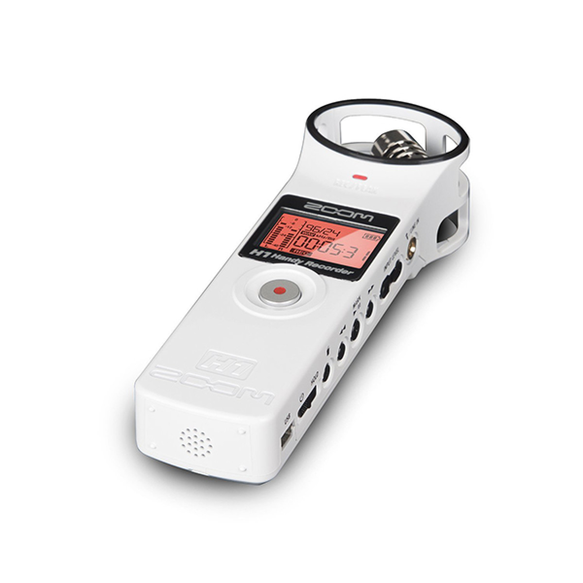 Zoom H1 Ultra Portable Digital Audio Recorder White
