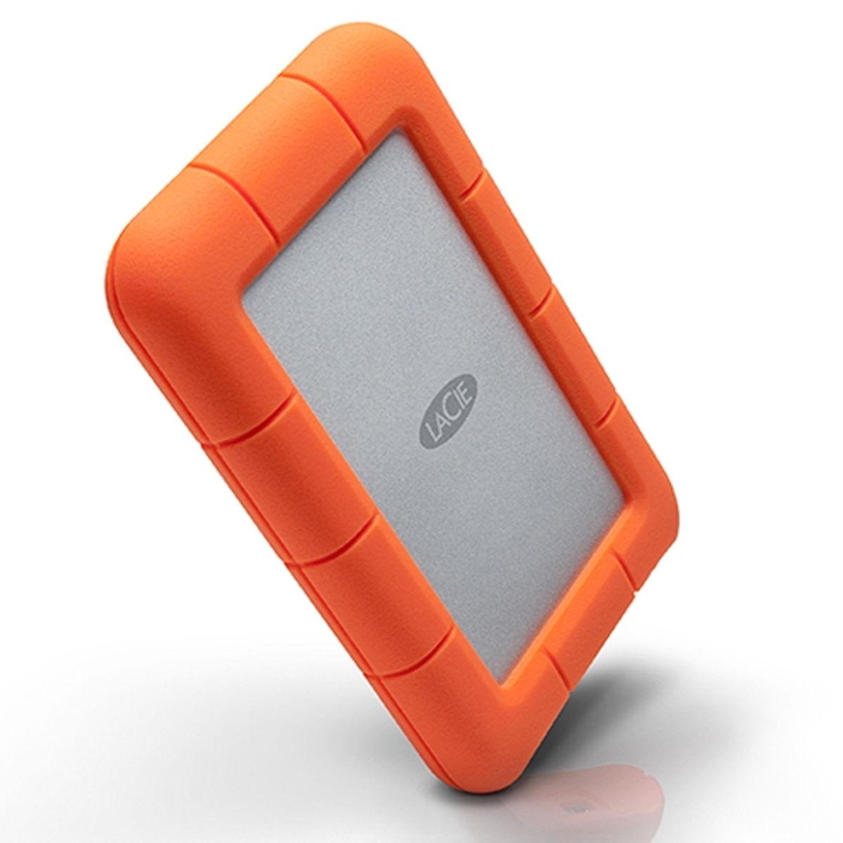Lacie Rugged Mini 1tb 2 5 Quot External Hard Drive Hdd Orange