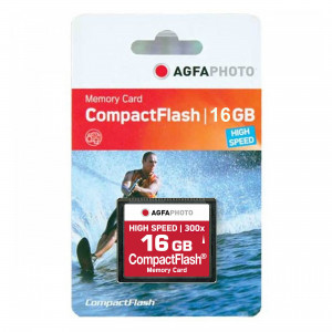 AGFA Photo 16 GB 300X Compact Flash High Speed Memory Card